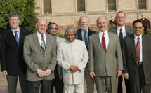 (Photo - Jonathan Dorfan with Indian President Kalam)