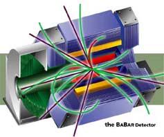 (Image - BaBar detector)