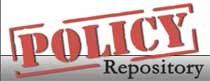 (Image - Policy Repository logo)