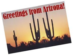 (Image - Arizona postcard)