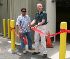 (Photo - Sector 20 ribbon cutting)