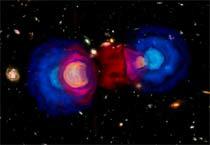 (Image - Dark matter visualization)