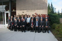 (Photo - Chinese Academy of the Sciences group photo )