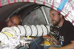 (Image - Vacuum chamber installation)
