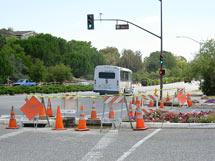 (Photo - Sidewalk construction)