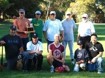 (Photo - Winning softball team)