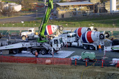 (Photo - Cement Trucks)