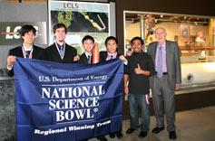 (Photo - Science Bowl winners)