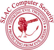 (Image - SLAC security badge)