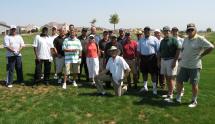 (Photo - SLAC team at the 2007 DOE Golf Challenge)