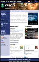(Photo - New DOE high energy physics Web site)