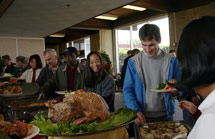 (Photo - 2007 SLAC Holiday Party buffet)