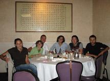 (Photo - INFN students farewell lunch)