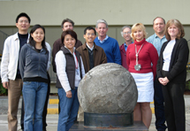 (Photo - new SLAC employees Dec 4, 2008)
