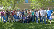 (Photo - Students from the 2008 Stanford Berkeley Synchrotron Summer School)