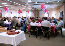 (Photo - 10 year service award luncheon)