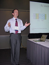 (Photo - Yves Acremann talk at APS 2009)