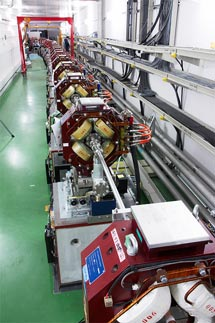 (Photo: the ATF2 beamline at KEK in Japan)