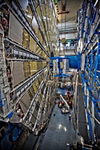 (Photo - the ATLAS detector at CERN)