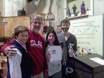 (Photo - visiting the set of The Big Bang Theory)