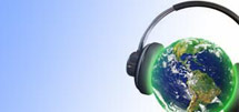 (Image - Earth with headphones)
