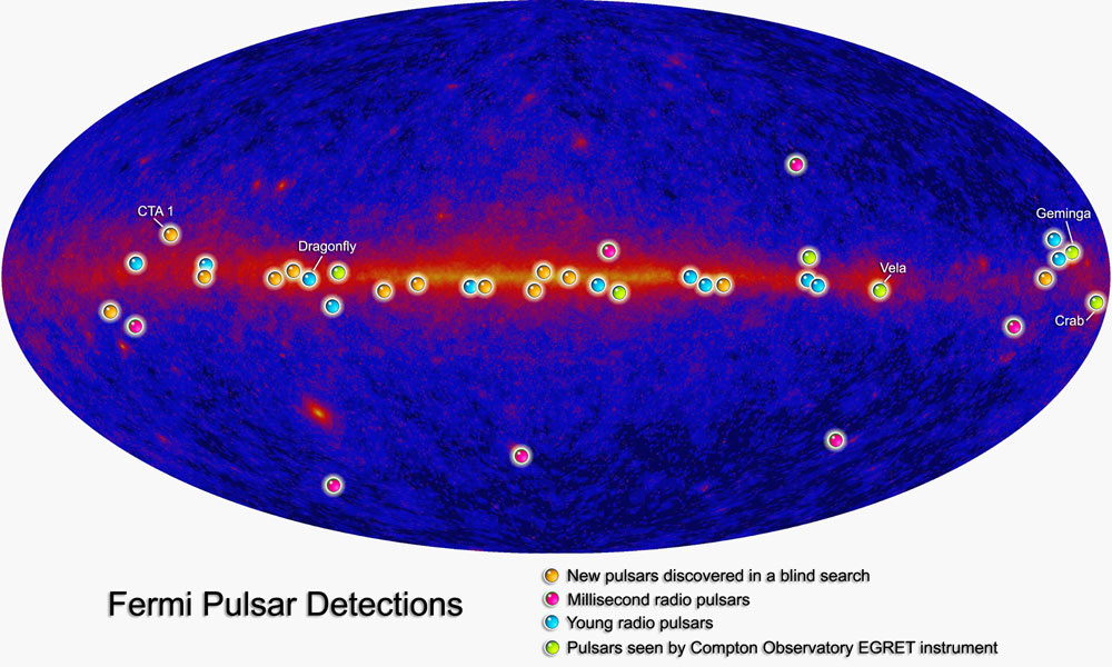 Fermi Gamma-Ray Space Telescope Pulsars