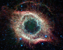 (Photo - the Helix nebula)