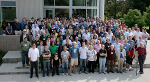 (Photo - LAT collaboration meeting 2009 attendees)