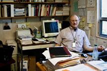(Photo - Michael Sullivan in his office)