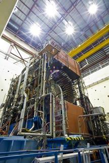 (Photo - The Mark II detector)