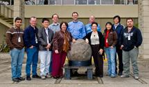 (Photo - new SLAC employees February 5, 2009)