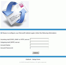 (Image - phishing screen shot)