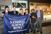 (Photo - SLAC Science Bowl winners 2008)