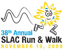 (Image - 2009 SLAC Run & Walk T-shirt design)