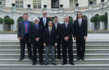 (Photo - SLUO members in Washington DC)