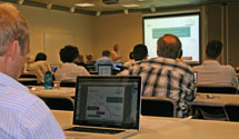 (Photo - SLUO/LHC workshop in session)