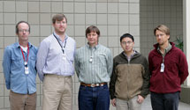 (Photo - SSRL Accelerator and Technology Group members outside Building 137)