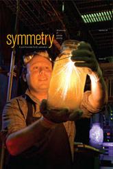 (Image - Symmetry magazine cover, December 2009)