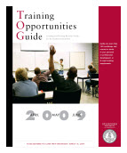(Image - Training Opportunities Guide cover)