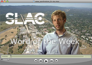 (Image - video Word of the Week: Synchrotron)