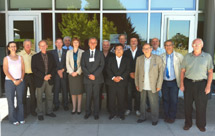 (Photo - OECD Global Science Forum participants)