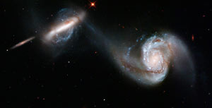 (Image - merging galaxies)