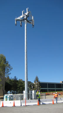 (Photo - new AT&T cell tower)
