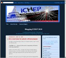 (Image - Blogging ICHEP Web site)