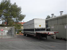 (Photo - temporary cooling tower)