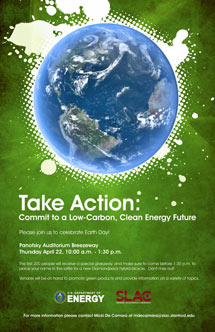 (Image - Earth Day poster)