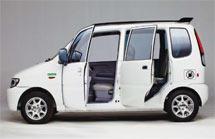 (Photo - new electric sedan)