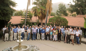 (Photo - Fifth Generation Lightsource meeting attendees)