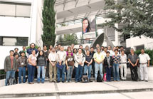 (Photo - Geant4 course teachers and attendees in Mexico)
