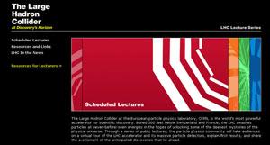 (Image - LHC lecture series Web site)